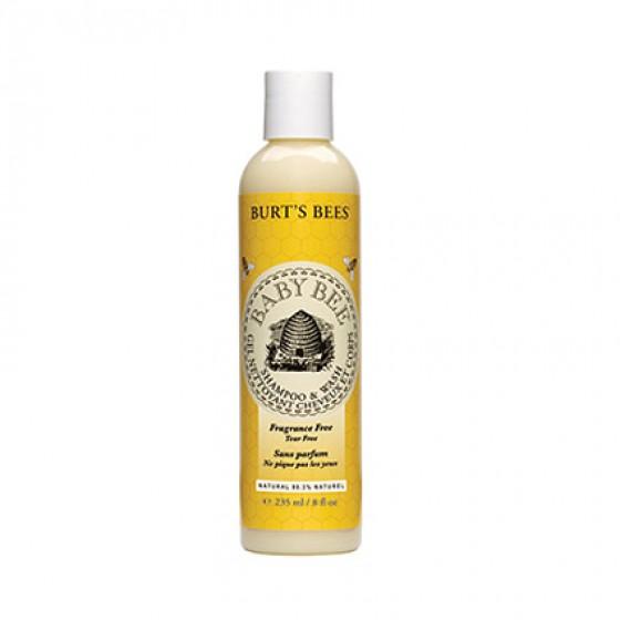 Baby Bee Fragrance Free Shampoo & Wash
