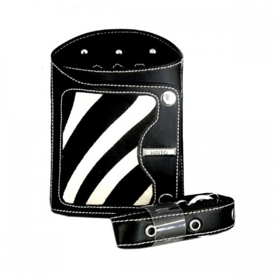 Zebra print scissor holster