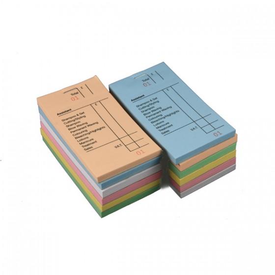 Assorted colour checkpads