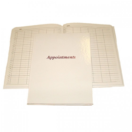 6 Column appointment book