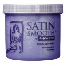 Satin Smooth Pearl soft wax with lavender and Calendula