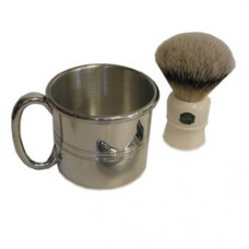 Pewter Shaving Cup