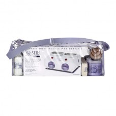 Satin Smooth double waxing starter kit