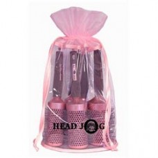 HeadJog Pink ceramic Brush set