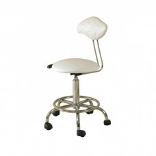 White therapists gas lift stool