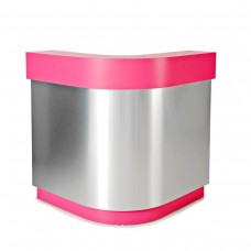 L shape Salon reception desk