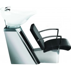 Yoko Stainless Steel  Backwash Unit with Choice of Ayala Chairs