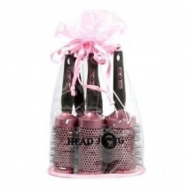 HeadJog Pink Ceramic brushes