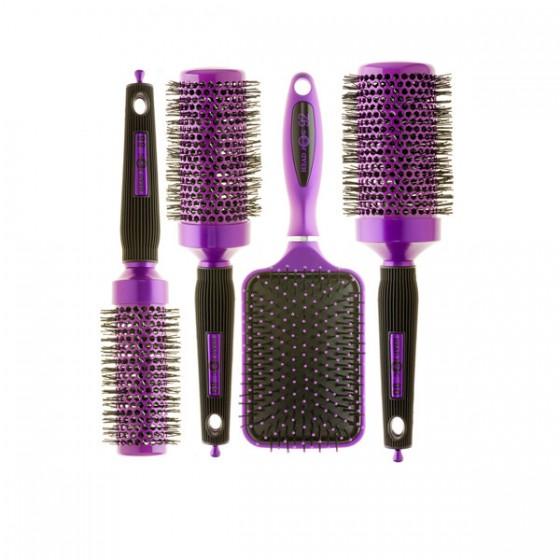 Purple brush set