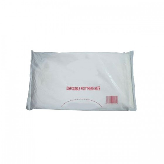 Disposable Poly Hats 100's