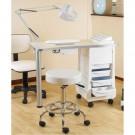 Skinmate Nail desk and lamp