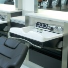 Salon Console Folding Basin