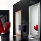Deco styling mirror