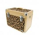 Leopard effect beauty case
