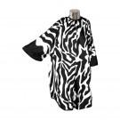 DMI zebra print gown