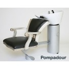 WBX 2000 Backwash with Pompadour Chair Silver Frame