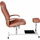 Portos Beauty Chair with H Shaped Footrest