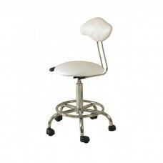 White therapists gas lift stool